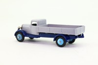 Dinky Toys 25a; Wagon Type 4; Grey, Blue Chassis