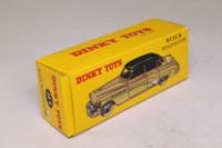 Dinky Toys 24v; Buick Roadmaster Sedan; Off White, Red Top