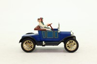 Dinky Toys 475; 1908 Ford Model T; Blue, Yellow Wheels