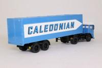 Corgi Classics 21302; AEC Ergomatic Cab; Artic Box Trailer: Caledonian Road Services