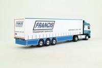 Eligor 112745; DAF XF Artic; Curtainside Trailer; Francis, Northwich