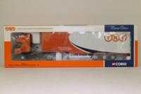 Corgi CC12111; Renault Premium Artic; Step Frame Box Trailer, TNT Global Express