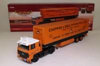 Corgi Classics CC15304; Scania 111/113/143 Truck; Tandem Axle Tilt Trailer, Chapman & Ball Ltd, Stoke On Trent