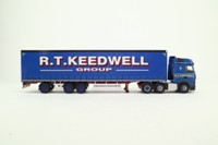 Corgi CC15808; Mercedes-Benz Actros; Curtainside, RT Keedwell Group
