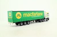 Corgi CC13429; MAN TGA XXL; Artic Curtainside: Macfarlane