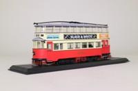 Atlas Editions 4648102; Feltham Tram; London United; 7 Shepherds Bush