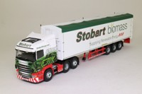 Corgi CC13756; Scania R Cab; Moving Floor Trailer, Eddie Stobart Biomass