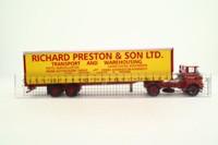 Corgi CC12505; Atkinson Borderer; Artic Tautliner, Richard Preston & Son Ltd, Prestons of Potto