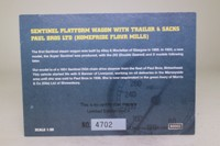 Corgi 80002; Sentinel Steam Wagon; Flatbed & Trailer, Paul Bros, Birkenhead, Sacks Load