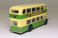 Corgi OOC OM40801; Bristol Lodekka Bus; Southdown-BH&D; Rte 5 Hangleton
