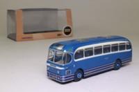 Oxford Diecast 76WFL002; AEC Weymann Fanfare Coach; Triumph Coaches, Leyland, Private Hire