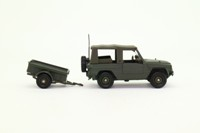 Solido 6148; Peugeot P4 Utility; & Trailer; French Army