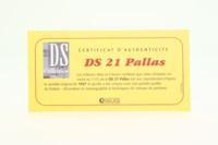 Atlas Editions; 1967 Citroen DS21 Pallas; Silver & White