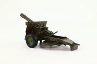 Crescent Toys 1250; 25 Pounder Field Gun; Dark Green
