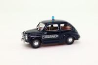 Progetto K PK151; Fiat 600D; 1960 Carabinieri