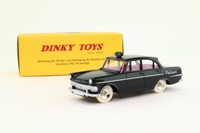 Dinky Toys 546; Opel Rekord; Taxi Cab; Black