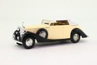 Solido 4077; 1939 Rolls-Royce Phantom III; Closed Cabriolet, Cream & Black