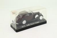 Solido 4071; 1939 Rolls-Royce Phantom III; Sedanca; Maroon, Black