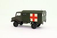 Solido 6046; Mercedes-Benz Unimog; Military Ambulance