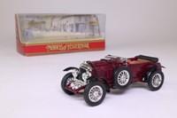 Models of Yesteryear Y2-C; 1930 Bentley 4 1/2 Litre; Open Tourer; Maroon