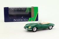 Eligor 1152; 1964 Jaguar E Type; Open Roadster; Green