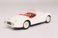 Brumm R101; Jaguar XK120; Open Roadster, White
