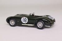 Quartzo QLM033; Jaguar C Type; 1953 24h Le Mans 1st; Rolt & Hamilton; RN18