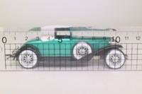 Solido 4080; 1929 Cord L-29 Coupe; Soft Top, Metallic Green & Black