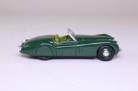 Corgi 96041; Jaguar XK120; Open Roadster; Racing Green, Green Seats