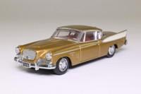 Dinky Toys DY-26; Studebaker Golden Hawk; Gold, White Trim