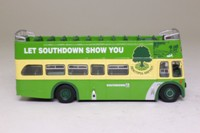 Corgi OOC OM41905; Leyland PD3 Bus Queen Mary; Open Top: Southdown Beautiful Britain; Rte 221