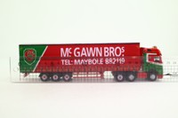 Oxford Diecast 76MB007; Mercedes-Benz Actros GSC Curtainside, McGawn Bros
