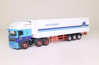 Oxford Diecast 76EC002; ERF EC Artic; Fridge Trailer, John Mackirdy Ltd
