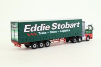 Oxford Diecast STOB006; MAN TGX XXL Artic; Curtainside, Eddie Stobart