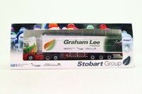 Oxford Diecast 76SHL10WF; Scania Highline Artic; Walking Floor, Eddie Stobart; Graham Lee