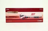 Corgi Classics CC18103; Scania R Cab Artic, 1:76 Scale; Fridge Trailer; JBT