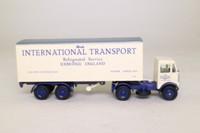 EFE 34601; AEC Mammoth Major MkIII 4x2 Artic Twin Axle Boxvan; Monk's International Transport;