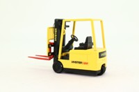 Joal 602; Hyster J1.080 XMT Fork Lift Truck; Yellow & Black with Red Forks