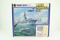 Tri-ang M906; Minic Ships; Naval Harbour Set