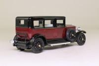 Rio 59; 1926 Fiat Tipo 519s; Sedan, Maroon & Black