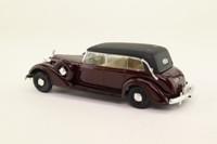 Rio 22; 1938 Grande Mercedes, 8cyl, 7.7 Litres; Dark Maroon