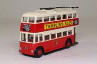 Corgi OOC 97813; Weymann /BUT Trolleybus; Brighton Hove & District; 42 Brighton Stn, Seven Dials, Elm Grove