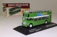 Atlas Editions 4 655 102; Bristol Lodekka FS Bus; Open Top: Southdown; 17 Portslade Stn