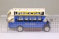 Models of Yesteryear Y-23/1; 1922 AEC S Type Omnibus; East Surrey: Lifebuoy Soap