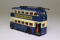Corgi OOC 97811; Weymann /BUT Trolleybus; Notts & Derby Traction Co; A1 Ripley Heanor Eastwood Basford