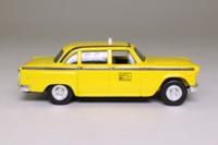 ERTL 2587; 1959 Checker Cab; Yellow Cab