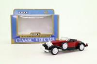 ERTL 2542; 1930 Packard Boattail Speedster; Maroon & Black