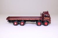 Corgi 24401; Leyland Mouthorgan Cab; 8 Wheel Flatbed, John Codona's Pleasure Fairs
