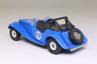 Corgi C869; 1953 MG Midget TF; Open Roadster; Blue, RN113