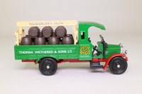 Corgi C867; 1930 Thornycroft Lorry; Beer Truck, Thomas Wethered, Barrel Load